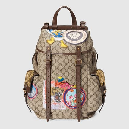 Gucci Backpacks Monogram Nylon 7