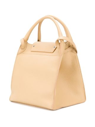 CELINE Totes A4 Plain Leather Oversized Elegant Style Totes 2
