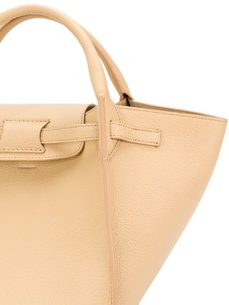 CELINE Totes A4 Plain Leather Oversized Elegant Style Totes 4