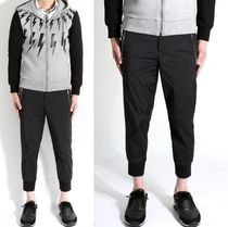 NeIL Barrett Street Style Cotton Bottoms