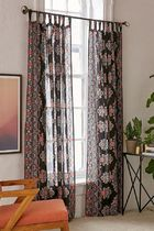 Urban Outfitters Ethnic Dark Brown Curtains