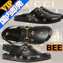 GUCCI Star Unisex Studded Other Animal Patterns Leather