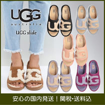 UGG Australia UGG SLIDE Open Toe Casual Style Suede Plain Sandals