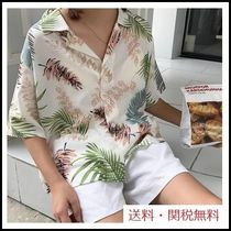 Casual Style Medium Short Sleeves Shirts & Blouses
