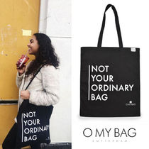 O MY BAG Casual Style Unisex A4 Totes