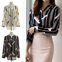 Street Style Long Sleeves Medium Office Style