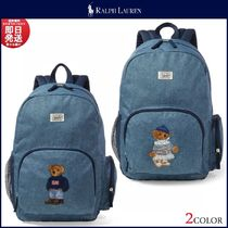 Ralph Lauren Casual Style A4 Backpacks