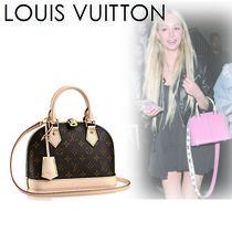 Louis Vuitton ALMA Monogram Canvas 2WAY Elegant Style Handbags