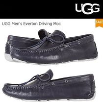 UGG Australia Driving Shoes Plain Leather Loafers & Slip-ons