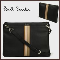 Paul Smith Stripes 2WAY Leather Clutches