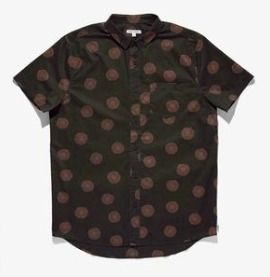 Dots Street Style Other Animal Patterns Cotton Short Sleeves