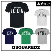 D SQUARED2 Street Style Plain Short Sleeves T-Shirts