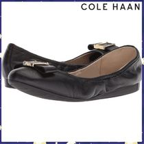 Cole Haan Plain Leather Office Style Flats