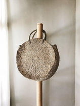 SURRENDER THE LABEL A4 Plain Straw Bags