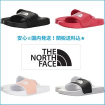 THE NORTH FACE Open Toe Rubber Sole Casual Style Unisex Footbed Sandals