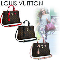 Louis Vuitton Monogram Casual Style Canvas 2WAY Handbags