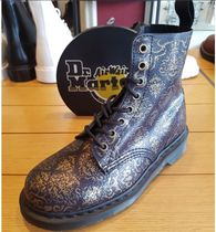 Dr Martens Lace-up Casual Style Street Style Leather Lace-up Boots