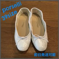 PORSELLI Round Toe Casual Style Handmade Ballet Shoes