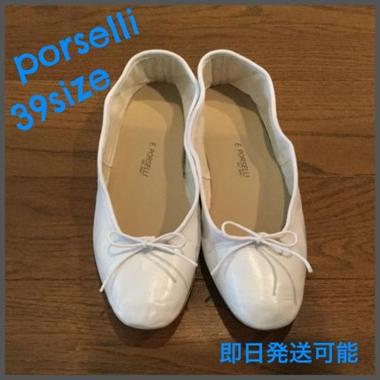 Round Toe Casual Style Handmade Ballet Shoes