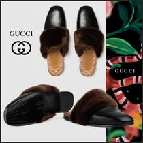 GUCCI Other Animal Patterns Leather Shoes