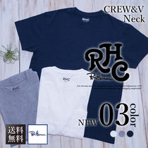 Ron Herman Crew Neck Plain Short Sleeves Crew Neck T-Shirts