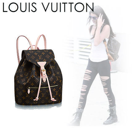 ... Louis Vuitton Backpacks Monogram Casual Style Canvas 2WAY Backpacks ... dc3a262dd3