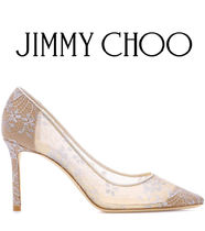 Jimmy Choo Blended Fabrics Pin Heels Party Style