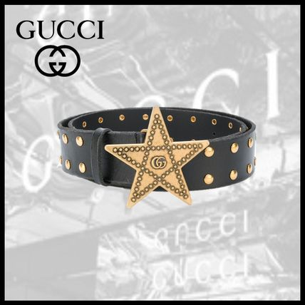 Star Leather Belts