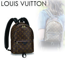 Louis Vuitton Monogram Casual Style Canvas 2WAY Backpacks