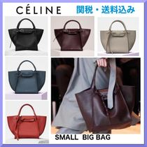 CELINE A4 2WAY Plain Leather Totes