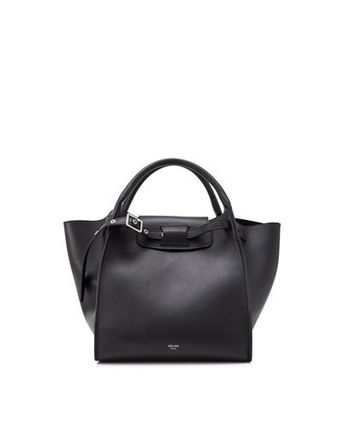 CELINE Totes A4 2WAY Plain Leather Totes 2