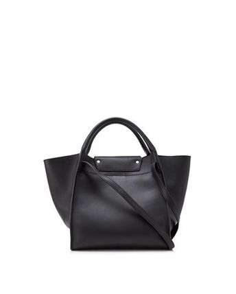 CELINE Totes A4 2WAY Plain Leather Totes 3