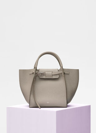 CELINE Totes A4 2WAY Plain Leather Totes 8