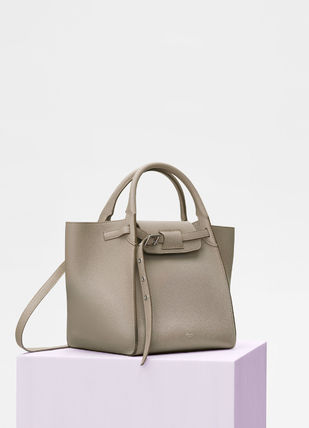 CELINE Totes A4 2WAY Plain Leather Totes 9
