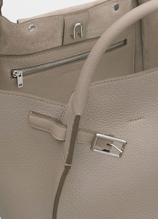 CELINE Totes A4 2WAY Plain Leather Totes 10