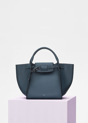 CELINE Totes A4 2WAY Plain Leather Totes 12