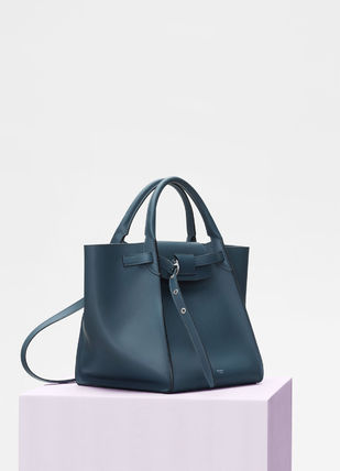 CELINE Totes A4 2WAY Plain Leather Totes 13