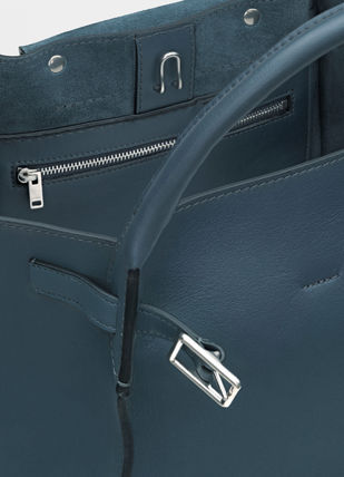 CELINE Totes A4 2WAY Plain Leather Totes 14