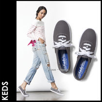 Keds Plain Toe Casual Style Street Style Plain Low-Top Sneakers