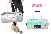 Victoria's secret PINK Tropical Patterns Street Style Boston & Duffles