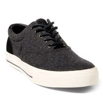 Ralph Lauren Suede Plain Sneakers