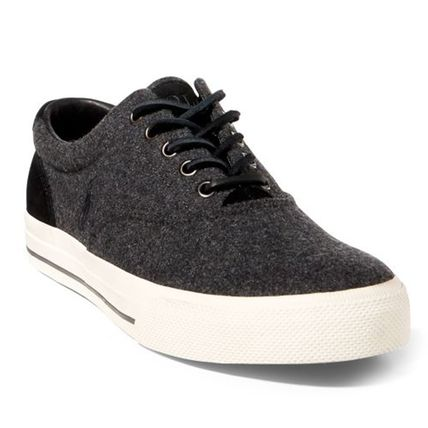Suede Plain Sneakers