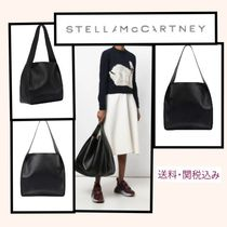 Stella McCartney FALABELLA Faux Fur Plain Office Style Totes