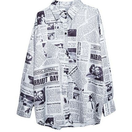 Shirts & Blouses Casual Style Street Style Long Sleeves Shirts & Blouses 14