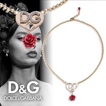 Dolce & Gabbana Costume Jewelry Party Style Brass With Jewels