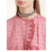 Isabel Marant Party Style With Jewels Necklaces & Pendants