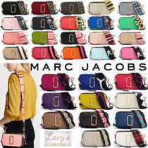 MARC JACOBS Snapshot Stripes Casual Style Unisex Street Style 2WAY Bi-color Plain