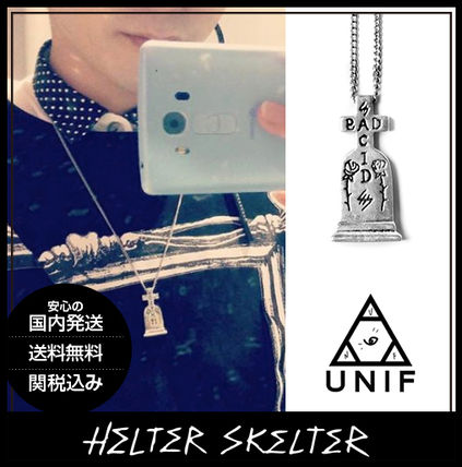 Casual Style Unisex Cross Street Style Collaboration Chain