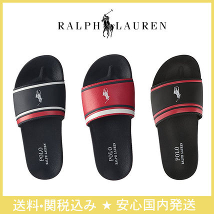 Stripes Open Toe Casual Style Sandals
