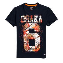 Superdry Crew Neck Street Style Short Sleeves Crew Neck T-Shirts